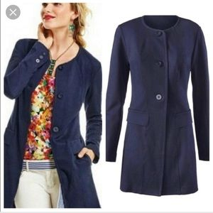 New without tags CAbi Lido Navy Blue Jacket m